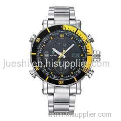 WEIDE Stainless Steel band latest men watches