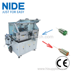 AC Servo Small Wire Automatic Armature Winding Machine For DC Motor AC Motor