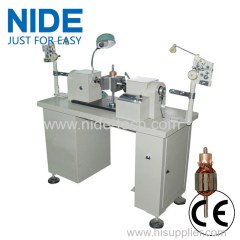 MODEL DOUBLE FLYER ARMATURE WINDING MACHINE ROTOR WINDING MACHINE