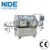 Mixer motor automatic two winding heads rotor coil winder