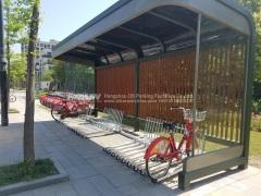 two tier bicycle racks
