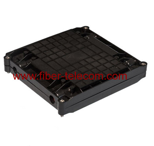 Flat type fiber optic enclosure
