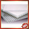 hollow pc sheet/polycarbonate sheet/pc roofing panel/twin wall pc sheet-excellent construction product!