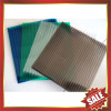 twin wall polycarbonate sheet / mutil wall polycarbonate sheet /hollow pc sheet-excellent greenhouse and building cover!