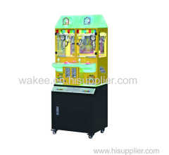 2017 candy coin game machine mini claw machine arcade games for kids