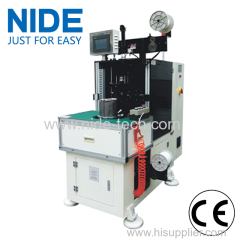 High efficiency stator coil lacing machine