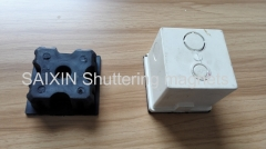 magnet system for rectangular or round electronic box