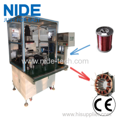 Two Working Stations Automatic Needle Winding Machine for BLDC Stator