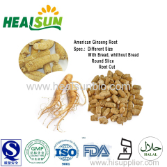 American Ginseng Root Slice