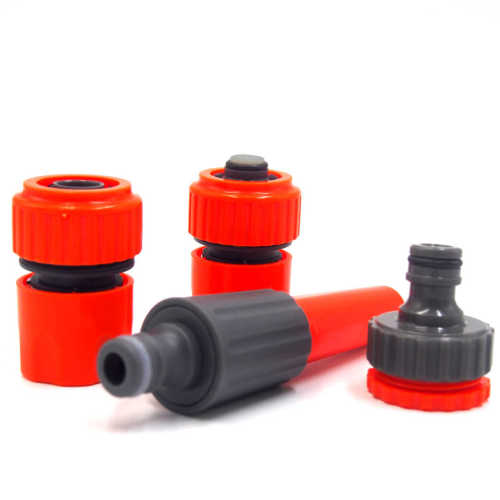 Plastic 19mm garden water hose connector set