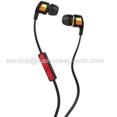 SkullCandy Smokin Buds2 Spaced Out Orange Iridium In-Ear Audio Earbud Headsets With In-Line Microphone