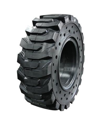 chinese new brand solid tires for bobcat skid steer loaders 16/70-16 20.5/70-16
