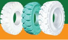 No marking solid tyres for industrial forklift truck 3.50-5 4.00-8 5.00-8 6.00-9 7.00-12 6.50-10