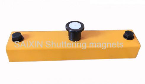 shuttering magnet box 900KGS painting precast concrete magnet box