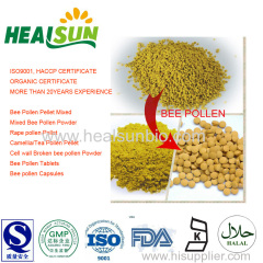 Cell-wall broken bee pollen powder