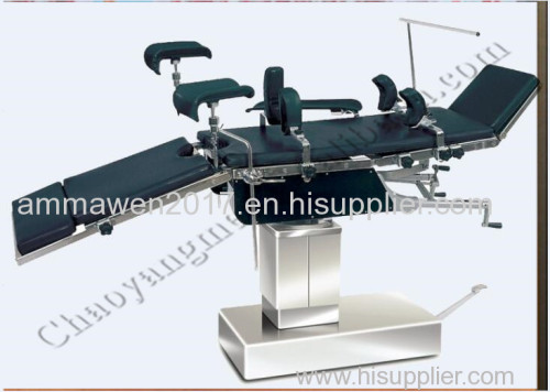 Multifunctional Manual mechanically operating theatre table