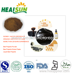 Bee propolis Extract Powder propolis 70% total Flavoid 12%