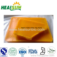 Nature Yellow Bees Wax Chunk