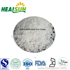 Refind white bees wax pellet low pesticide residue