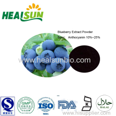 Blueberry Extract Powder 10%/25% Anthocyanidins