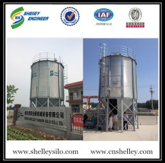 Professional cone bottom steel silo rice storage silo