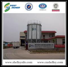 Small capacity 50ton grain storage steel silo