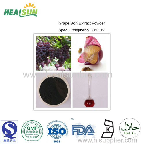 Grape Skin Extract Powder Polyphenol 30%UV