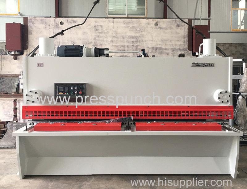 Hydraulic CNC guillotine shearing machine QC11K-12*3200
