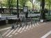 Smart bike rack with lock