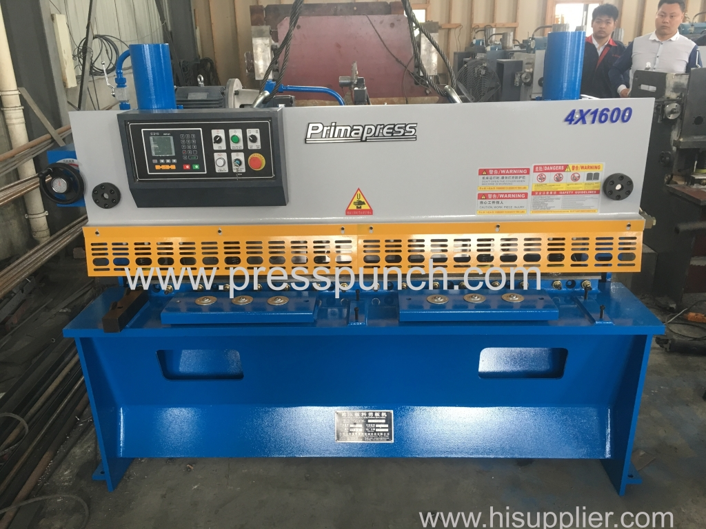 3 sets hydraulic guillotine shearing machine exported