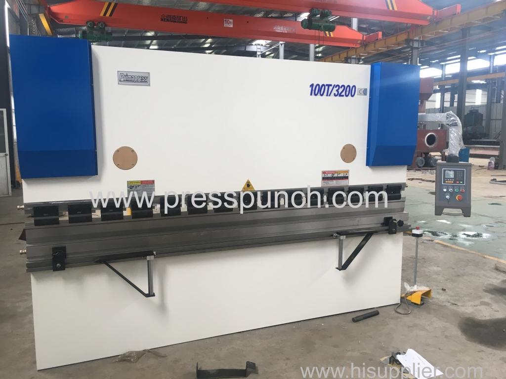 WC67K 100T/3200mm Hydraulic NC press brake machine
