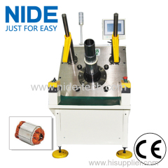 Gear Motor Stator Semi-automatic Coil Winding Insertion Machinery