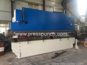 300ton 6m hydraulic press break machine exported to Malaysia