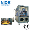 High automation stator coil winding and wedge inserting machine