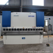 300ton 3200mm Hydraulic press brake exported to Africa