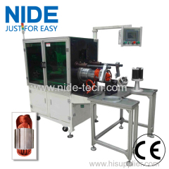 Automatic stator coil and wedge inserting machine