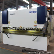 Popular hydraulic steel press brake sheet metal bending machine price
