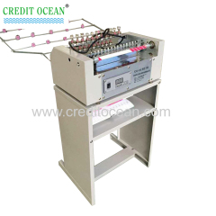 Yarn card sample winding machine