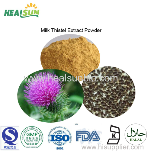 Milk Thistle Extract powder silymarin 80%