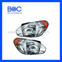 Head Lamp R 92102-1E000 L 92101-1E000 R 92102-1E040 L 92101-1E040 For Hyundai Accent '06
