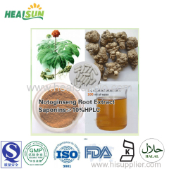 Panax Notoginseng Leaves Extract ginsenoside 70%UV