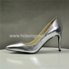Pointed toe stiletto heel women dress shoes