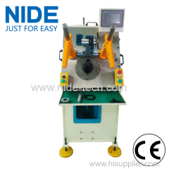 Generator motor automatic stator winding inserting machine
