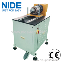 Horizontal structure stator wedge expanding machine