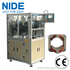 Automatic stator paper forming and cutting machine