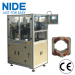 Two poles stator paper forming and cutting machine