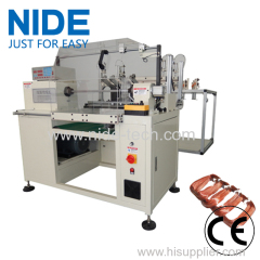 MULTIPLE WIRE COIL WINDING MACHINE