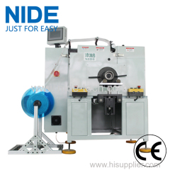 Automatic horizontal big size stator insulation paper inserting machine