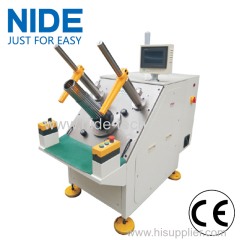 Three Phase Motor Stator Semi-automatic Coil Winding Inserting Machine