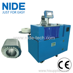 Automatic servo control stator slot insulation paper insertion machine